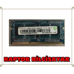RAMAXEL 2 GB DDR3 1333 MHZ LAPTOP NOTEBOOK RAM BELLEK