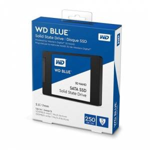 WD BLUE 2.5' inc 250GB 550/525 MB/S SATA3 SSD WDS250G2B0A