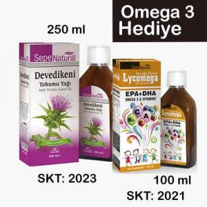 Devedikeni Tohumu Yağı 250 ml Milk Thistle Seed Oil Deve dikeni