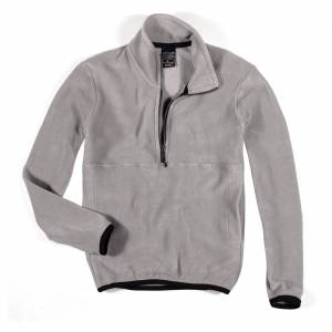 Cottonland RUBEN Erkek Polar Fleece Sweatshirt VİZON GRİ