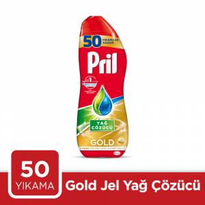 Pril Gold Jel50 Yıkama 900Ml