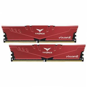 Team T-Force Vulcan Z 16GB (2x8GB) DDR4 2666MHz CL18 Kırmızı Gaming Ram - TLZRD416G2666HC18HDC01