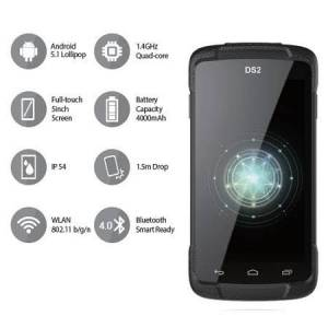 DSIC DS2 QC 1.4ghz Wlan Android 5.1 PDA El Terminali