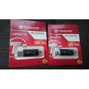 TRANSCEND JETFLASH 700USB 3.0 16 GBÇİFT TARAFLI USB FLASH BELLEK OTG