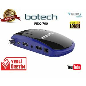 FULL HD UYDU ALICISI BOTECH 700 ÇİFT USB Lİ YOUTUBE Lİ