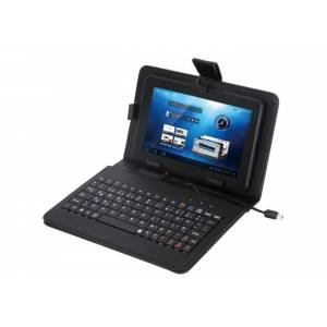 Everest KB-TAB07 7 Siyah Micro+Mini Usb Türkçe Q Klavye Tablet Pc Kılıfı
