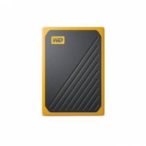 WD My Passport Go 500GB Black w/ Amber trim Western digital