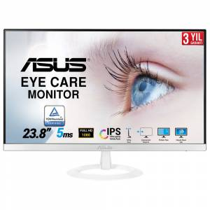 ASUS 23.8 VZ249HE-W 1920x1080 5MS HDMI D-SUB Led Monitör