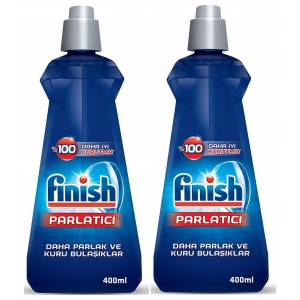 FİNİSH BULAŞIK MAKİNESİ PARLATICI 400 ML + 400 ML