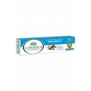Langelica Rezene Nane Diş Macunu Ferah Nefes - Fresh Breath Herbal Toothpaste Fennel-mint 75 Ml