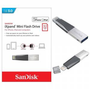 Sandisk 32GB iXpand Mini iPhone USB Bellek SDIX40N-032G-GN6NN