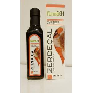 Zerdeçal Curcuma EXTRACT FARMAEK 250ML Curcumin