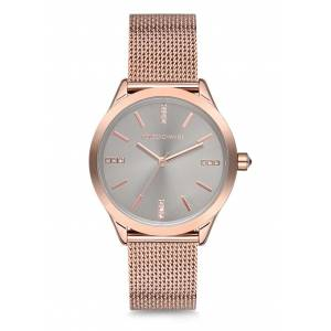 POLO EXCHANGE PX0035-05 ROSE GOLD HASIR KORDON BAYAN KOL SAATİ