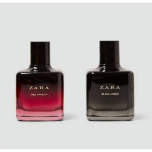 ZARA RED VANILLA EAU DE TOILETTE 100 ML + ZARA BLACK AMBER