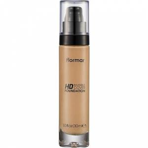 Flormar Invisible Cover HD Foundation  No:100 Medium Beige 30 ml