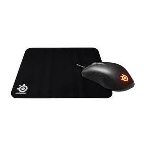 SteelSeries Rival 105 RGB Optik Gaming Oyuncu Mouse + QcK (Medium) Mouse Pad