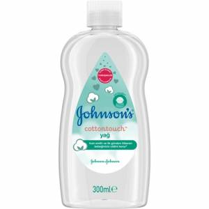 Johnson's Baby Cotton Touch Bebek Yağı 300 ml
