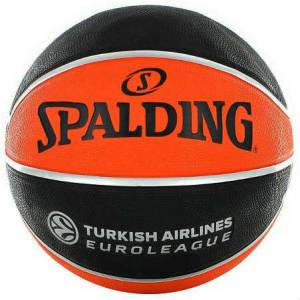 Spalding Tf-150 EuroLeague Indoor Outdoor No 5 Kauçuk Basketbol Topu