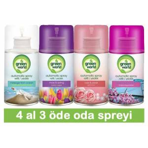 GreenWorld Oda Kokusu 4 al 3 öde (4x250ml)