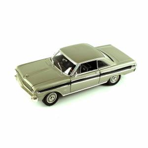 LUCKY DİE CAST 92708  1/18 1964 FORD FALCON-SILVER