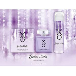 XO Bella Vista Kadın Gift Set 100ml EDT+ 125ml DEO