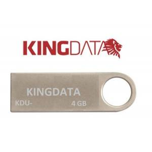 4GB METAL USB 2.0 FLASH BELLEK KİNGDATA 0003
