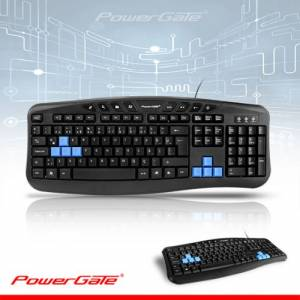 POWERGATE KB-X5 Q Multimedya KLAVYE USB