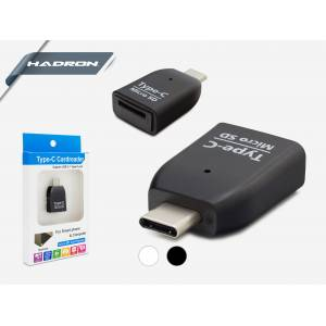 HADRON HD187/500 TYPE-C MİCRO SD CARD READER