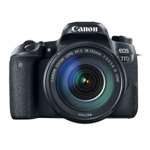 Canon EOS 77D 18-135mm IS USM DSLR Fotoğraf Makinesi