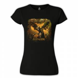 Avenged Sevenfold - Hail to the King Siyah Bayan Tshirt