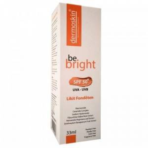 Dermoskin Be Bright Likit Fondöten Spf50 33 ml Orta Ton