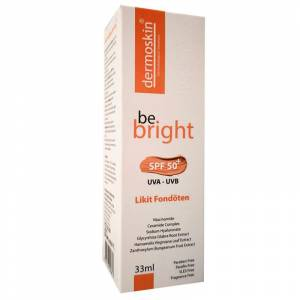Dermoskin Be Bright Likit Fondöten Spf50 33 ml Açık Ton