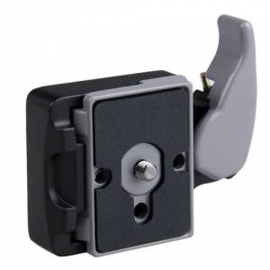 TEWISE Manfrotto 323 Plate Adaptör + 200PL-14 Plate