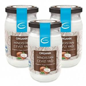 The LifeCo Organik Hindistan Cevizi Yağı 337 ml x 3 Adet