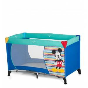 Hauck Dream N Play Mickey Mouse Seyahat Yatağı / Geo Blue 19