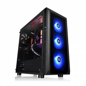 THERMALTAKE Versa J23 3x12Cm Tempered Glass USB 3.0 Siyah ATX Kasa(CA-1L6-00M1WN-01)