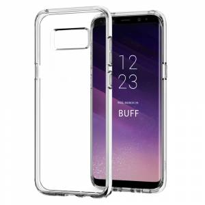 BUFF Galaxy S8 Plus Air Hybrid Kılıf Crystall Clear