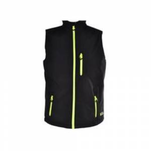 freecamp vest erkek softshell yelek sıyah XL
