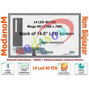 Toshiba Satellite L645D-S4056RD Ekran 14 Led Ekran 14 Lcd Panel