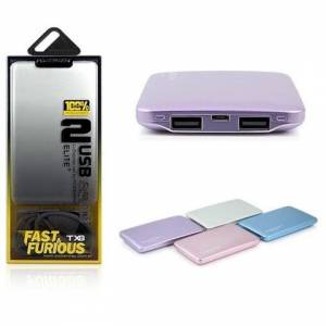 POWERWAY TX8 8000 MAh WIRELSS ÇİFT USB POWERBANK
