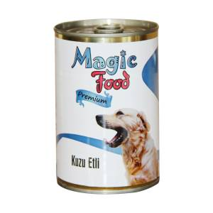 Magic Food Premium Kuzu Etli� Köpek Konservesi 415 Gr