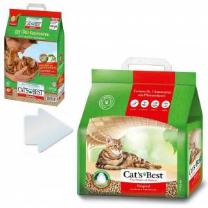Cats Best Original Cat Litter Organik Kedi Kumu 10 Lt 43 Kg