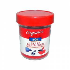 Organix Super Betta Food Beta Balık Yemi 60g 130ml