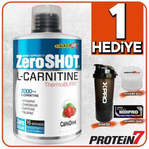Zero Shot L-Carnitine Thermo Burn 480ml Çilek