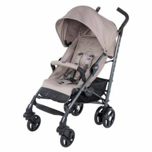 Chicco Lite Way 3 Top Bebek Arabası Dark Beige