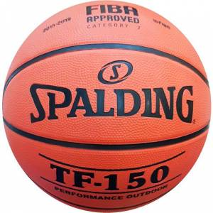 Spalding TF-150 NO:7 Basketbol Topu Spalding Basketbol Topu TF-150