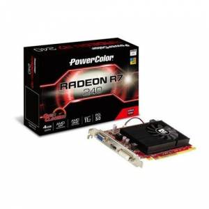 POWERCOLOR R7 240  4GB DDR3 128bit PCIe EKRAN KARTI