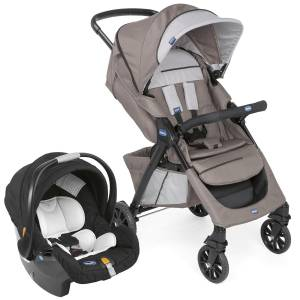 Chicco Duo Kwik One Travel Sistem Bebek Arabası Moka