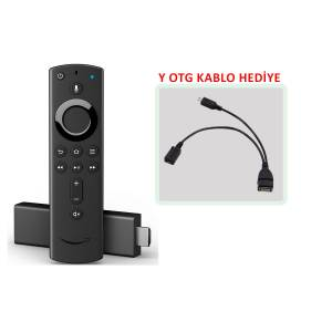 Amazon Fire TV Stick 4K + Y OTG Kablo