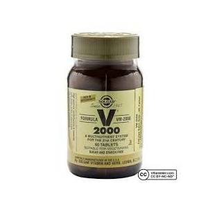 Solgar Vm 2000 Multivitamin 60 Tablet SKT:07-21